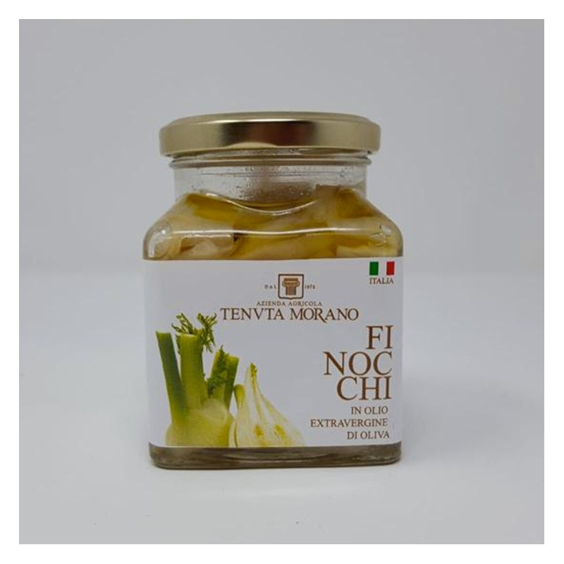 fennel in extra virgin olive oil