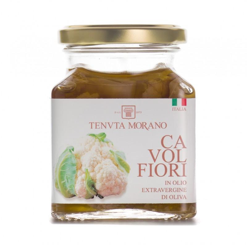cavolfiori in olio extravergine di oliva