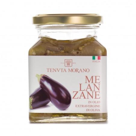 melanzane in olio extravergine di oliva
