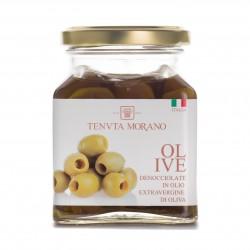 olive denocciolate in olio extravergine di oliva